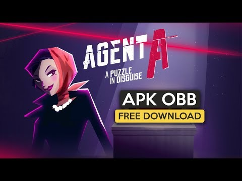 Agent A: A puzzle in disguise Apk OBB for Android free Download 2019