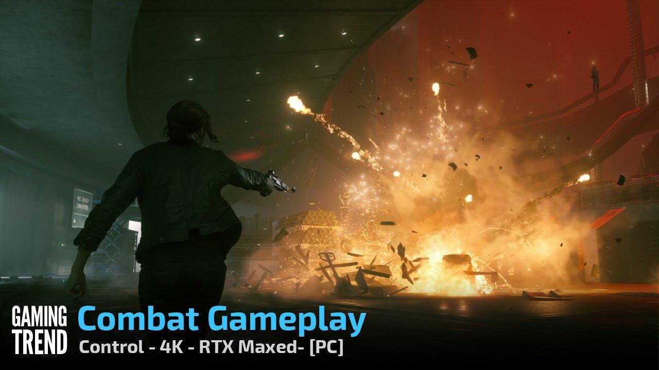 Control - Combat - 4K RTX Maxed - PC ...
