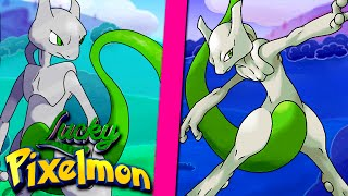 Minecraft : LUCKY PIXELMON - MEWTWO SHINY VS MEWTWO SHINY ! ÉPICO !