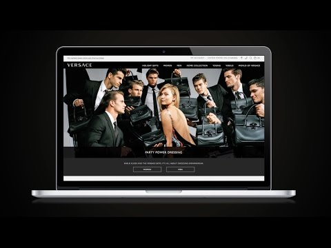 Experience the New Versace.com