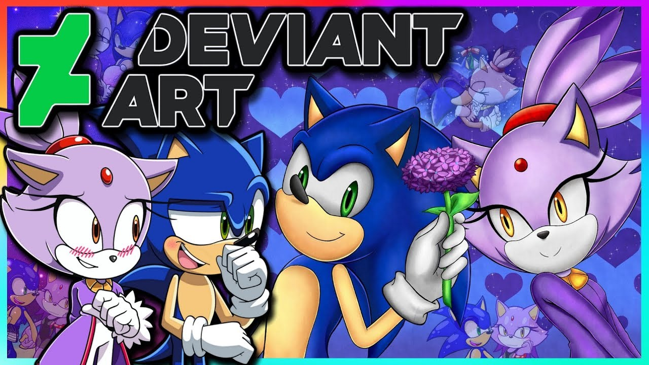 Sonic And Blaze Vs Deviantart Ft Tails Youtube