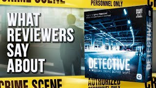 What reviewers say about Detective?