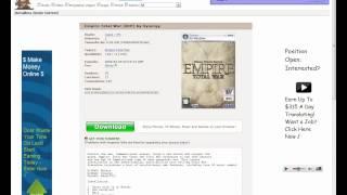 Donwload e instalação do Empire:Total War