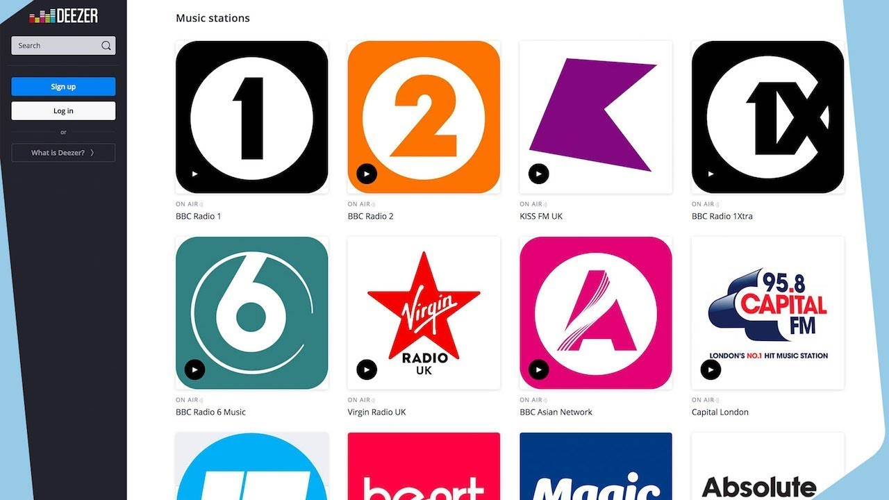 Adding Your Radio Station to Deezer | Radio co