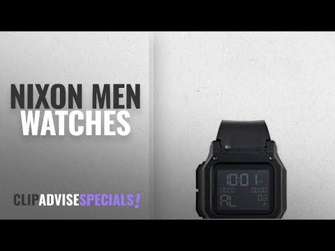 10 Best Selling NIXON Men Watches [2018 ]: Nixon Men's Regulus Watch, 46mm, Black, One Size
