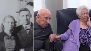 Couple celebrates 80th wedding anniversary