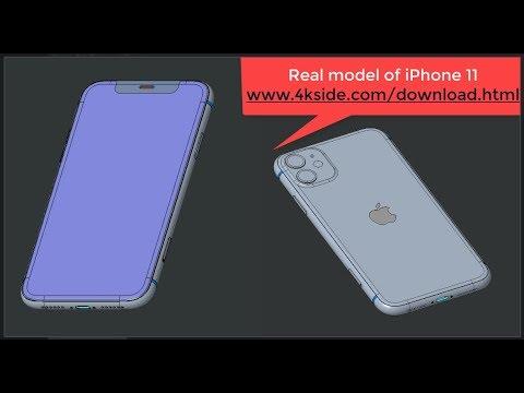 Real Model Of IPhone 11 - Www.4kside.com/download.html