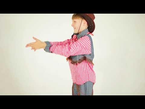 Карнавальный костюм ковбоя детский