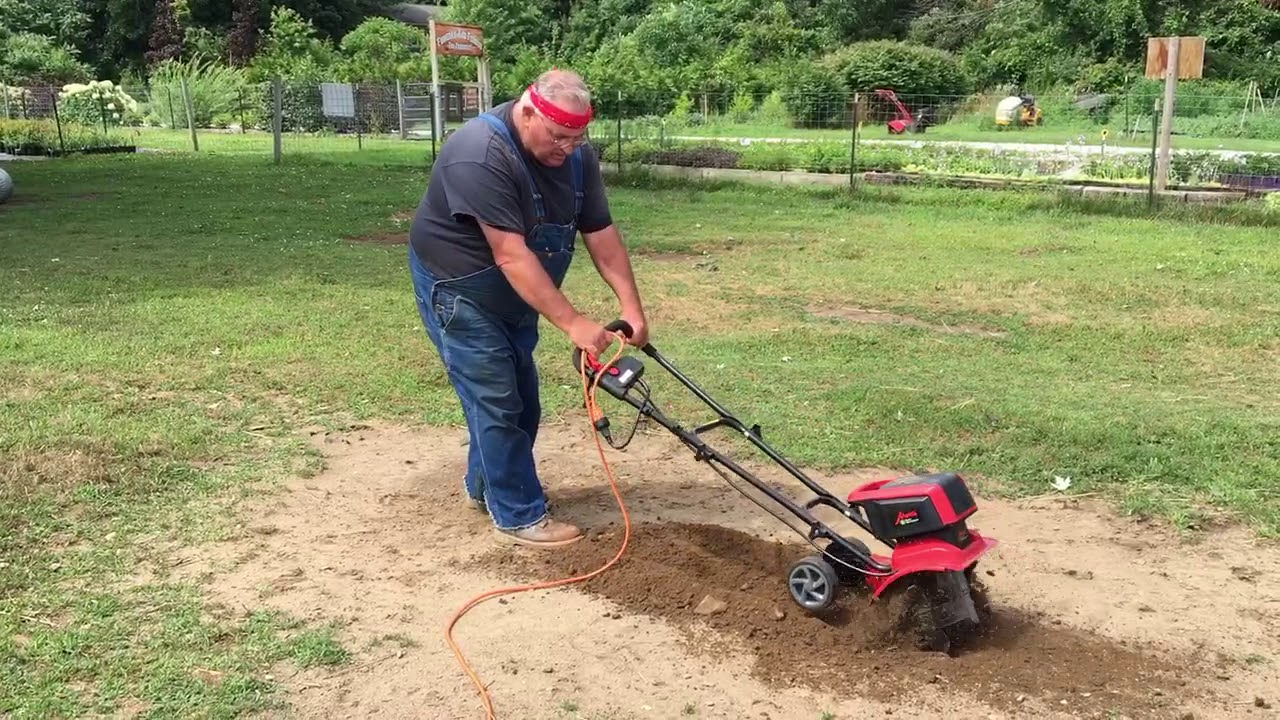 Reviewing The Mantis Electric Tiller Cultivator Youtube