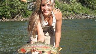 Рыбалка в Подмосковье ! Ловля форели ! Бешеный клев ! 26.03.17