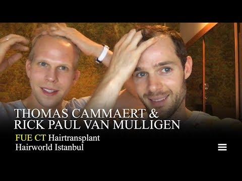 Thomas Cammaert en Rick Paul Van Mulligen FUE CT trailer film