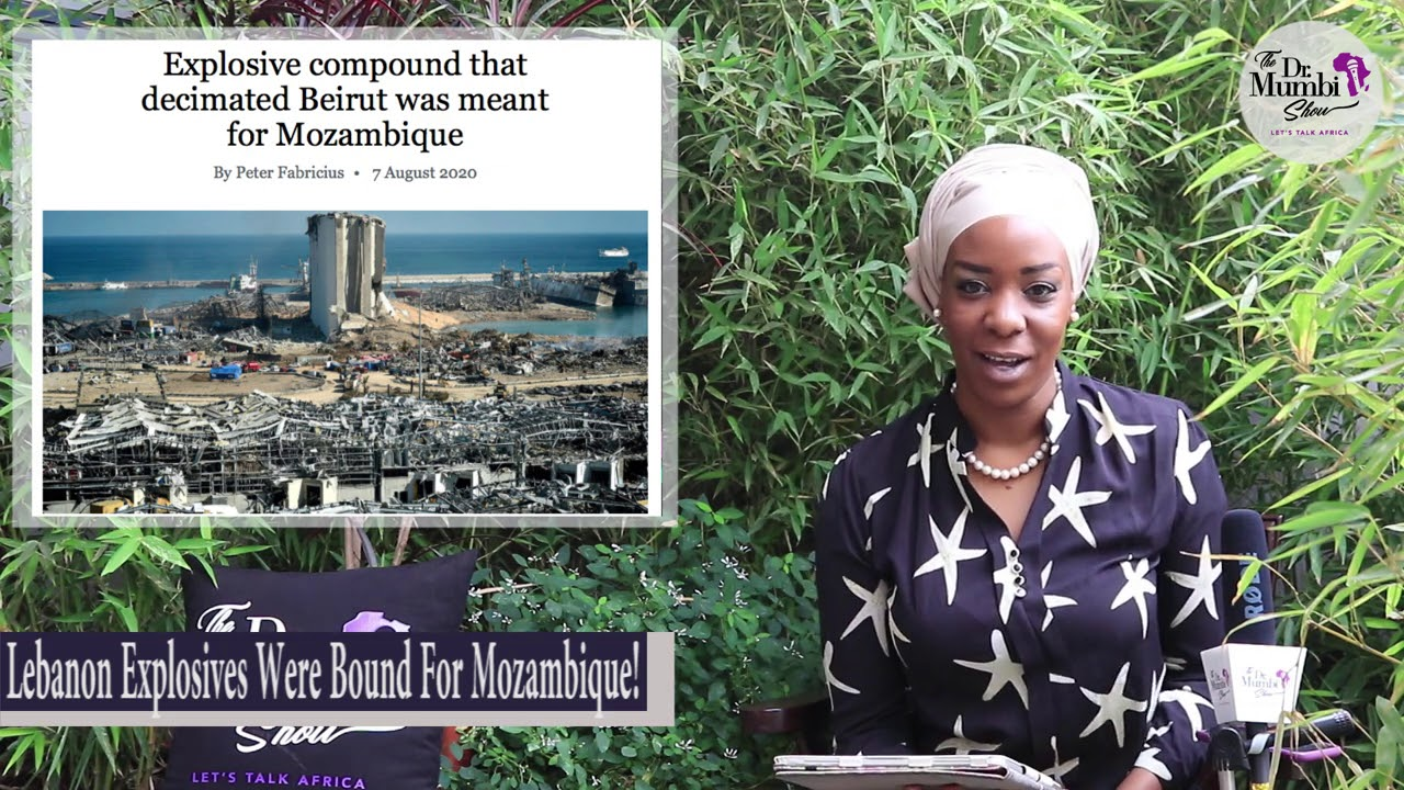 😮 WTF! Lebanon Bl@st 'EXPLOSIVES Compound' Was BOUND FOR MOZAMBIQUE! Let that SINK IN #WakeUpAfrica