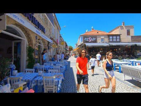Alaçatı, Çeşme Izmir | Walking Tour 2019