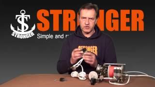 Якорная лебедка Stronger Steel Hands 40 и ее электрическая часть.(В данном видео, вы сможете узнать о том, как устроена электрическая составляющая якорных лебедок STRONGER. ..., 2014-03-07T08:28:23.000Z)