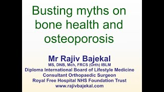 Mr rajiv bajekal - the role of diet and ...