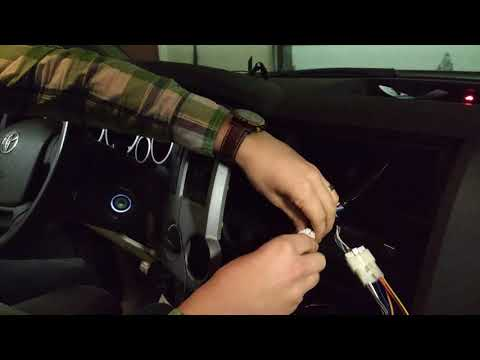 Installing Aftermarket Radio On 2007-2013 Tundra Part 2/2