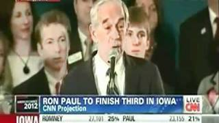 Ron Paul vs Media Part 4 Ron Paul Brings Back Soldier After CENSORED