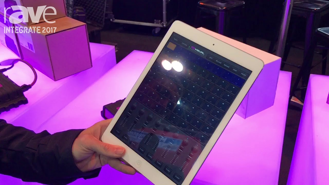 control lighting with ipad. Integrate 2017: Visual Productions Features The CUETY LPU-2 Lighting Control System With Ipad O