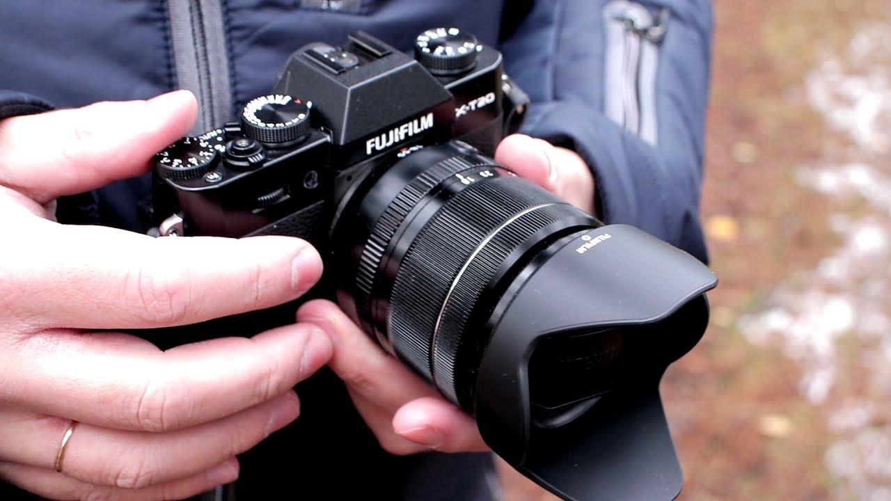 Почему я купил Fujifilm X-T20? Первые впечатления - YouTube