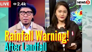 Super Typhoon OMPONG: Heavy Rainfall Warning After mag-landfall! Latest update September 15, 2018