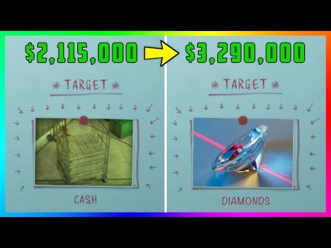 How To Change The Vault Contents During The Diamond Casino Heist To Get MAX Payout In GTA 5 Online!