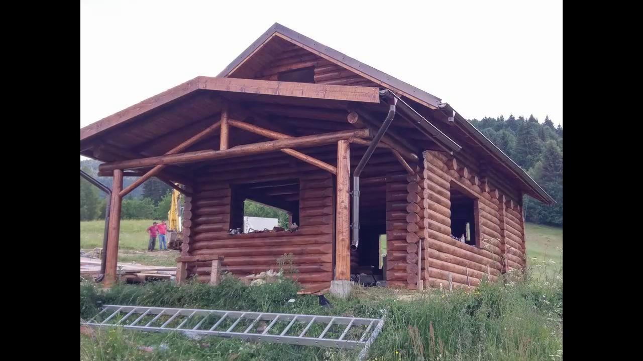 Proiect Casa Din Lemn.Proiect Casa Din Busteni Casa Lemn Rotund Cabana Lemn