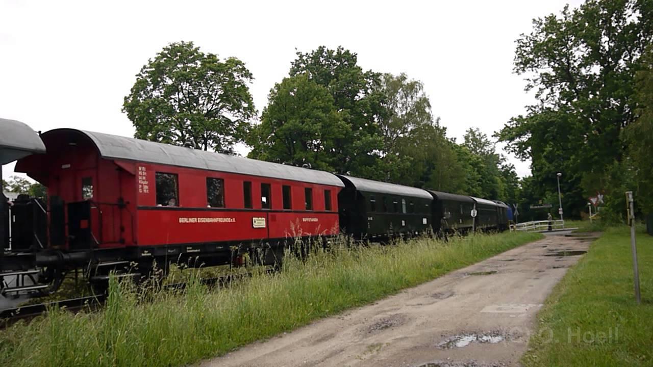 Sonderfahrt Der Berliner Eisenbahnfreunde Am 29052014 Youtube