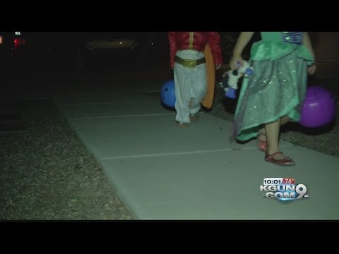 """Potential victims present themselves to your front door"": tracking sex offenders on Halloween"