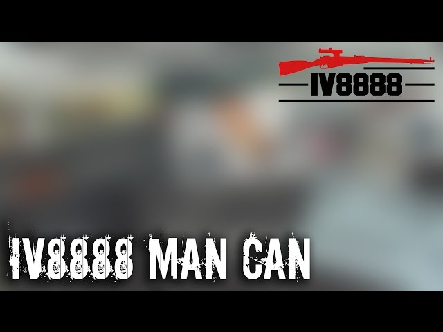 IV8888 MAN CAN May 2017 Unboxing