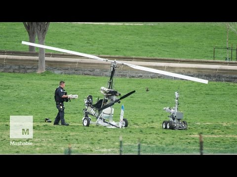 Florida mailman lands gyrocopter on U.S. Capitol lawn in political stunt | Mashable
