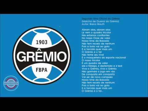 Primeiro Hino Oficial Grêmio Porto Alegrense ( 1946 )