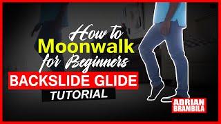 How to Moonwalk for Beginners   Backslide Glide Tutorial