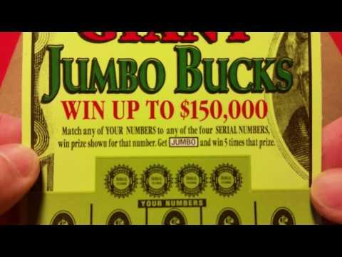 $5 WEDNESDAY~GIANT JUMBO BUCKS~GEORGIA LOTTERY TICKETS