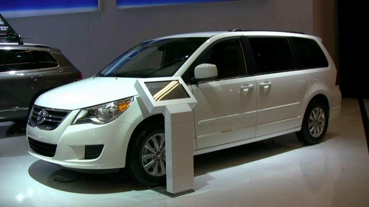 2012 volkswagen routan exterior and interior at 2012. Black Bedroom Furniture Sets. Home Design Ideas
