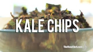The Raw Chef Tv | Spicy Bbq Kale Chips Raw Food Recipes