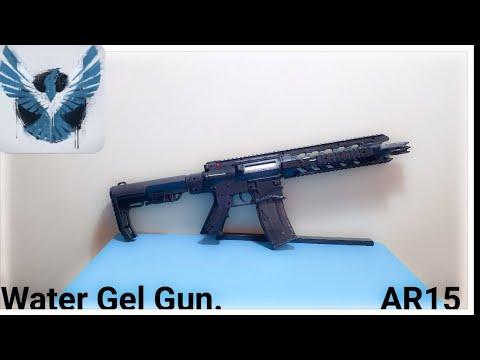 Water Gel Gun AR15 Shark Review