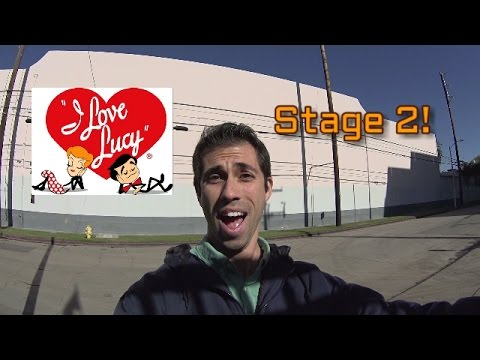 "Visiting ""I Love Lucy"" Filming Studio- Stage 2 (Season 1 & 2)--Hollywood Center Studios"