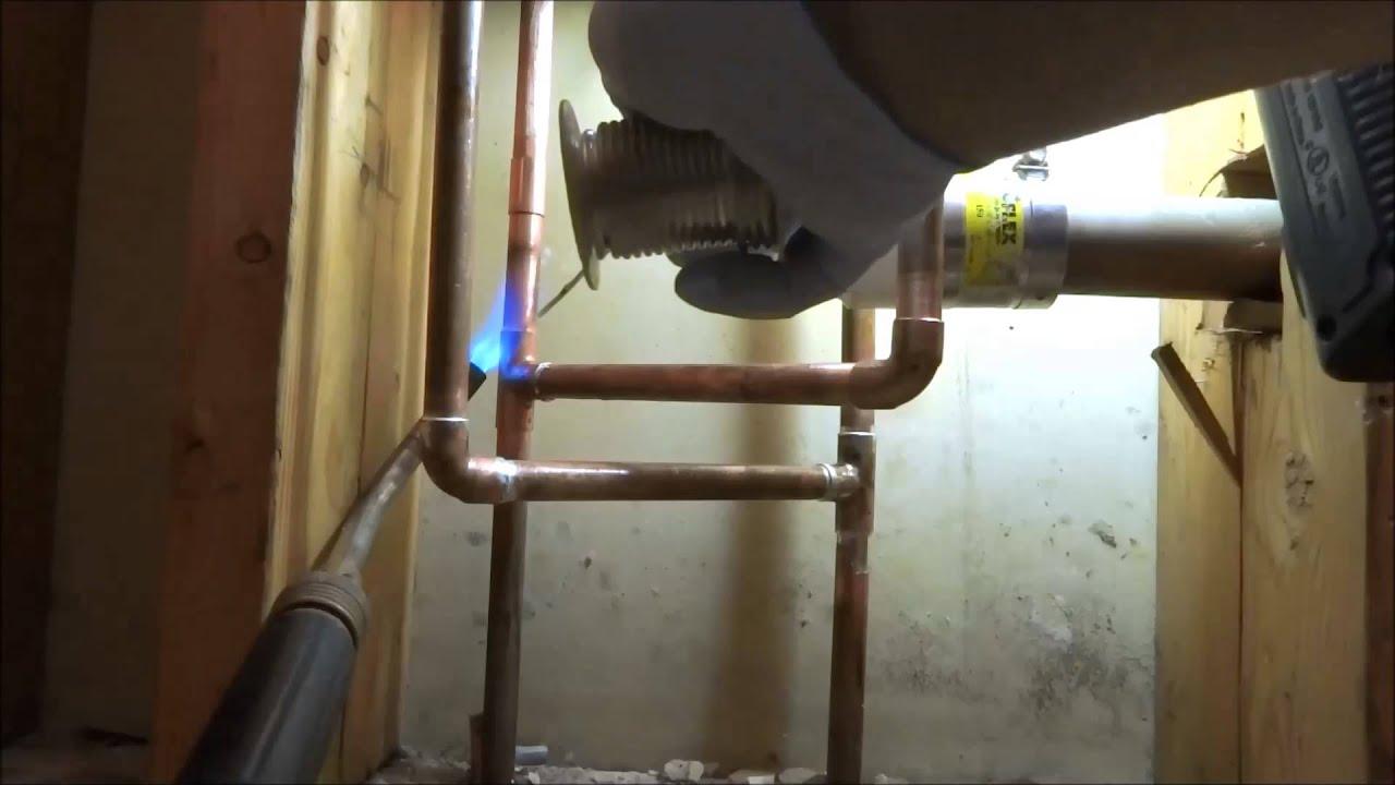 Bathroom Remodel Moving Plumbing : Bathroom remodel plumbing ruff part
