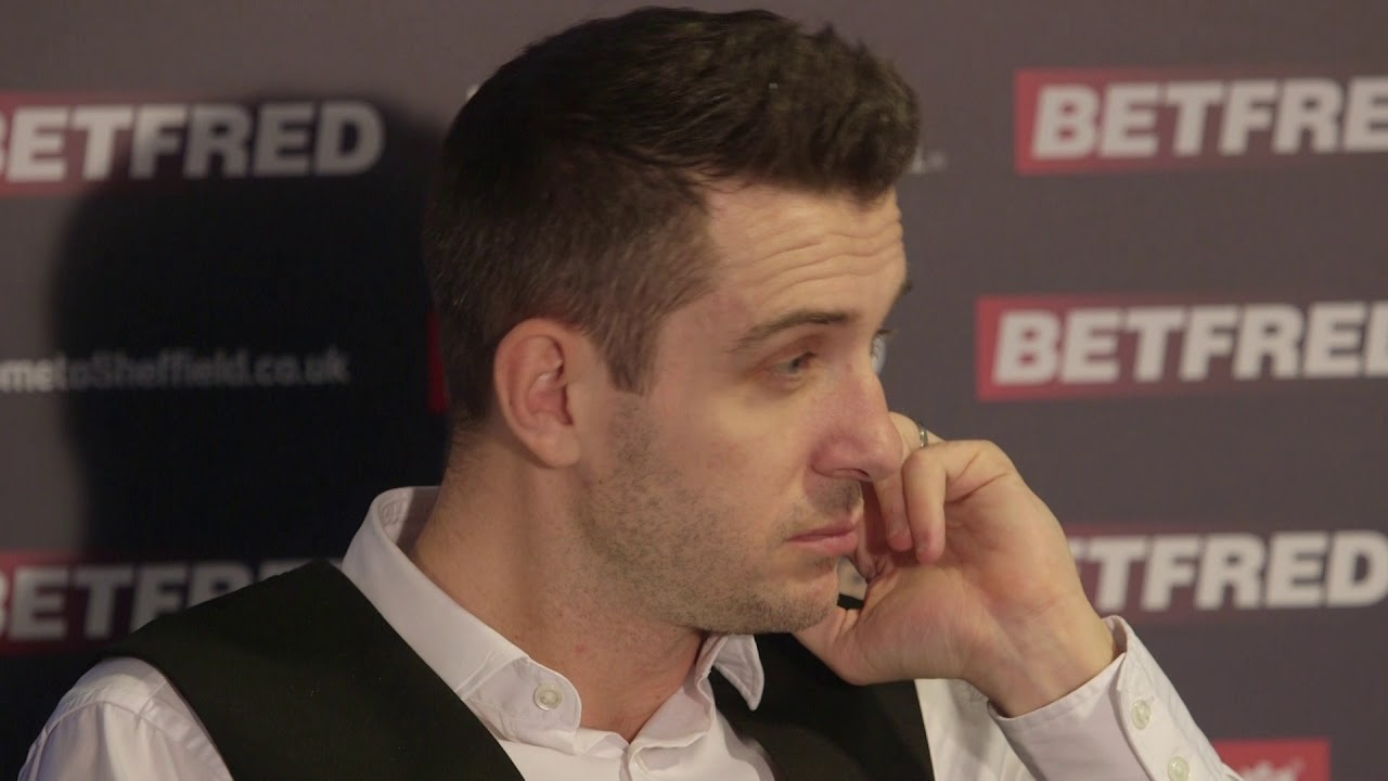 Watch Mark Selby Press Conference After Shock Defeat At The Betfred World  Snooker Championships - YouTube