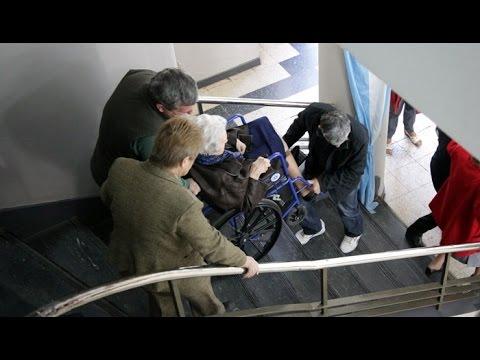 Ciudad inaccesible para las personas que sufren discapacidad