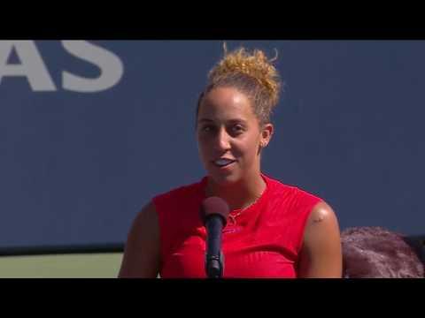 Madison Keys 2017 Bank of the West Classic Final Speech