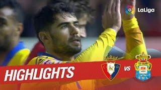 Video Gol Pertandingan Osasuna vs Las Palmas