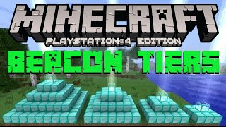 Minecraft Beacon Tiers