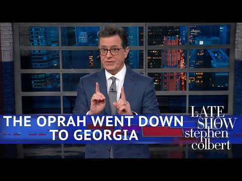 Oprah's New Favorite Thing: Campaigning In Georgia
