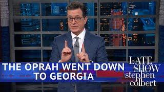 Oprah's New Favorite Thing: Campaigning In Georgia