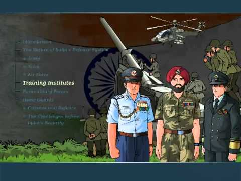 Civics - Class 8 - India's Defence System