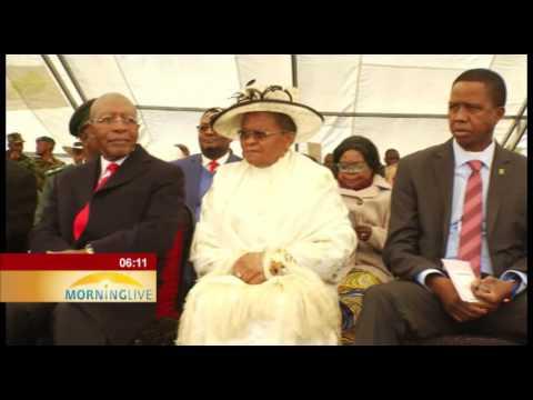 Lesotho inaugurates Tom Thabane as Prime Minister