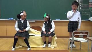 国語の学習で音読発表会を行います。寸暇を惜しんで練習をしています。...