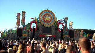 Harmony of Hardcore 2012 @ Festivalterrein de Rost, Erp - Shadowlands Terrorists (Live) - Intro