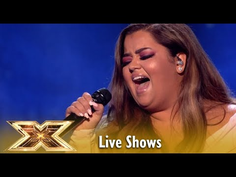Scarlett Lee Takes On Aretha Franklin's Natural Woman! WOW! | Live Shows 1 | The X Factor UK 2018